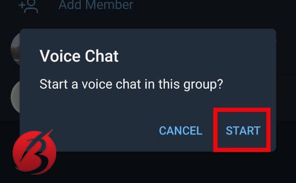 نحوه فعال سازی چت صوتی تلگرام