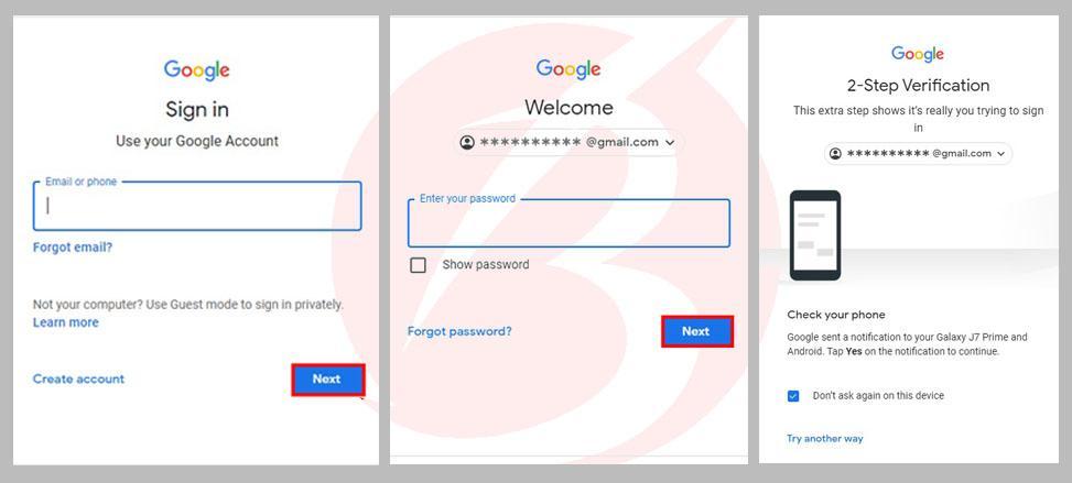 خروج از اکانت گوگل از راه دور - آموزش تصویری