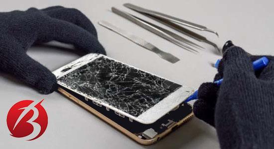 مراجعه به تعمیرکار موبایل