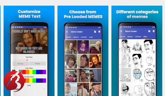 معرفی برنامه Meme Generator - Create Funny Memes