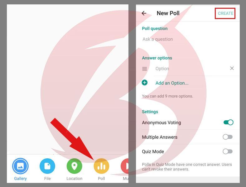 ایجاد رای گیری و نظرسنجی در تلگرام در اندروید