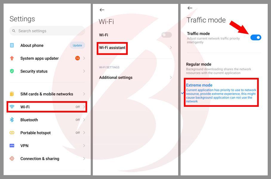 حل مشکل عدم اتصال گوشی های شیائومی به اینترنت - آموزش تصویری