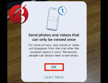 مرحل ارسال پیام محو شونده در پیام رسان واتس اپ
