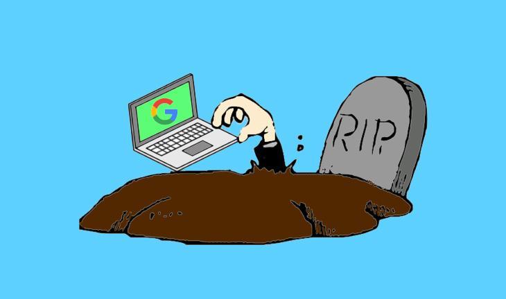 حذف اکانت گوگل بعد از مرگ - وب سایت برتر رایانه