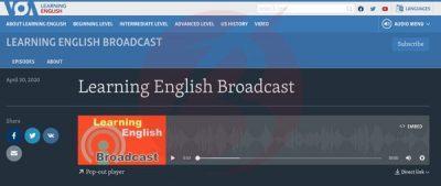 بهترین سایت ها و منابع آنلاین پادکست های انگلیسی
