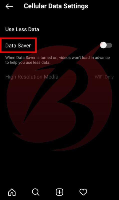 حل مشکل پخش خودکار ویدیو در اینستاگرام برای کاهش مصرف اینترنت