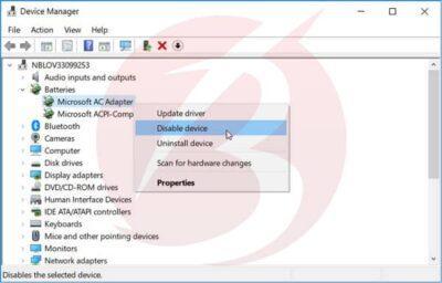 رفع مشکل شارژ نشدن باطری لپ تاپ در ویندوز با کمک Device status