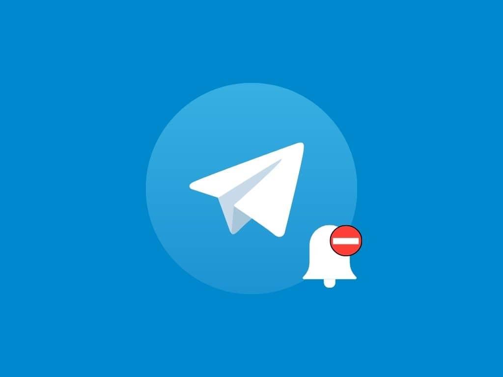 آموزش غیر فعال کردن نوتیفیکیشن تلگرام